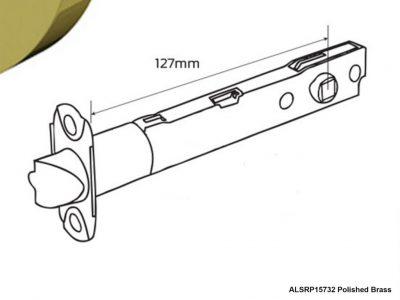 Schlage F Series 127mm Tubular Deadlatch