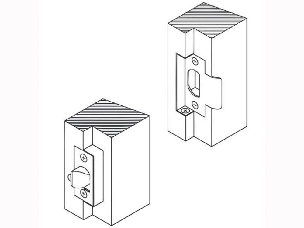 Schlage B Series Deadbolts Tubular Rebate Kit