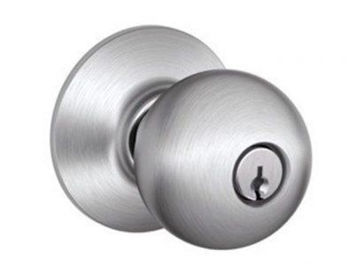 Schlage F Series Orbit Round Knobs