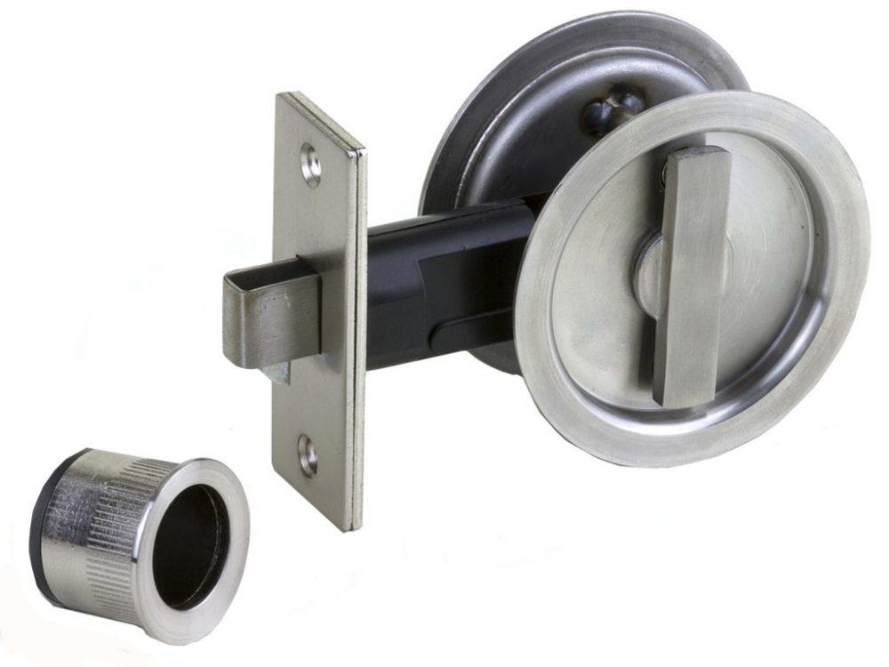 Sylvan Round Locking Cavity Handle Set