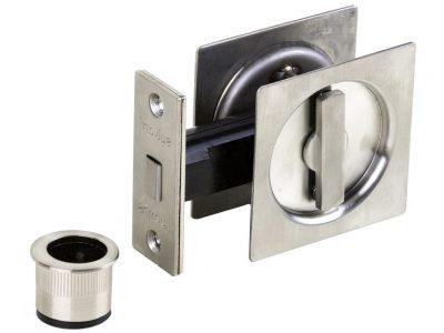 Sylvan Square Locking Cavity Handle Set