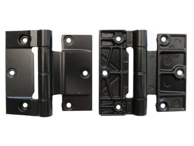 APL Bevelled Frame Recess 100mm Exterior Aluminium Door Hinge