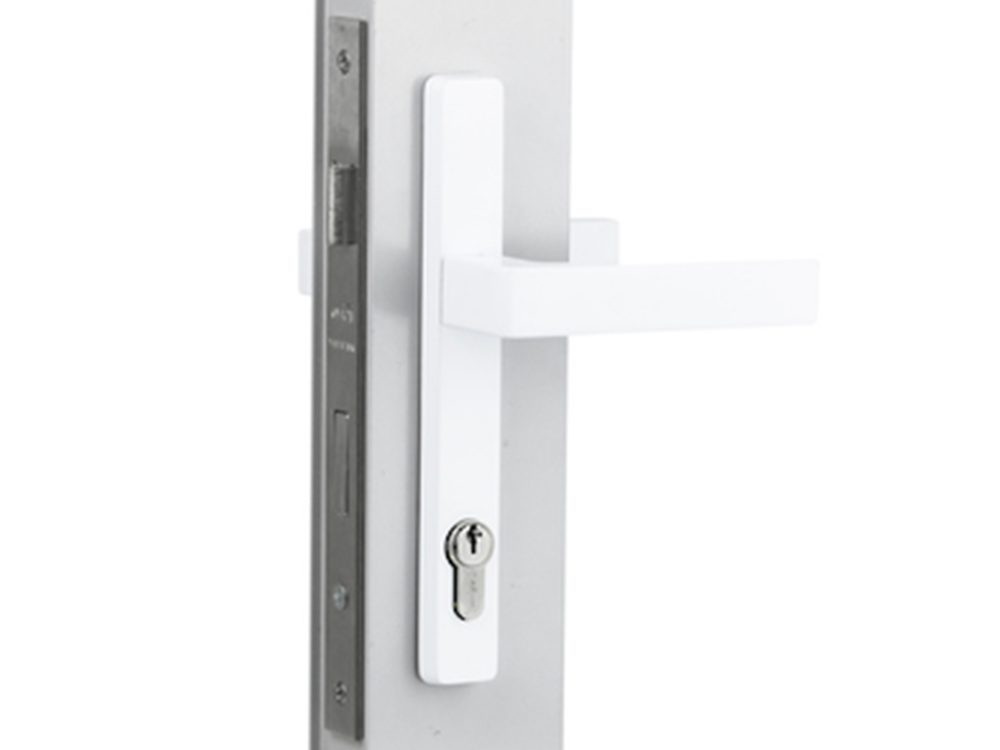 Sylvan Virgo Lever Handles On 202mm Long Plate with 30mm 3 point lock