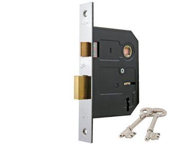 Sylvan 58mm Backset 3 Lever Mortice Lock