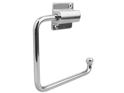 Drake And Wrigley Solid Brass Toilet Roll Holder