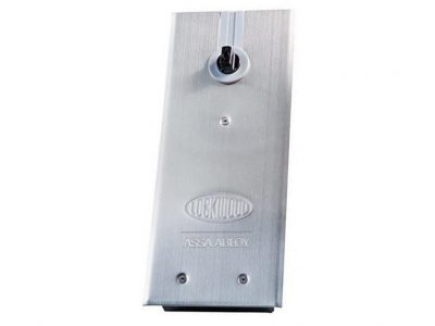 Lockwood 8800 Floor Spring - 90 Degree Hold Open Strength 4