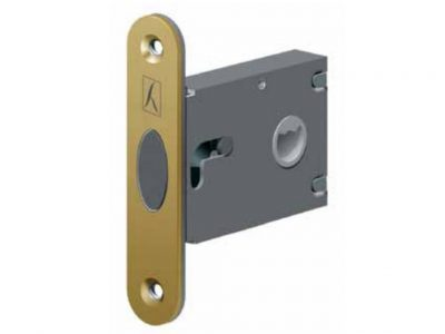 Bonaiti 50mm Backset Sliding Door Privacy Latch