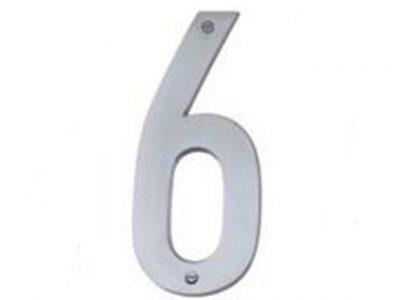 Elements Solid Brass Modern 76mm Numerals