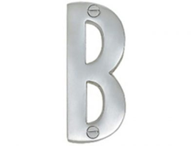 Elements Solid Brass 50mm Alphabet