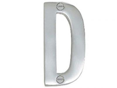 Elements Solid Brass 76mm Alphabet