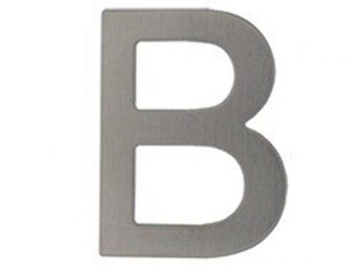 Elements 304 Grade Stainless Steel 76mm Rear Fix Alphabet