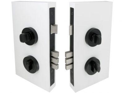 Windsor 60mm Backset Round Double Turn Locksets