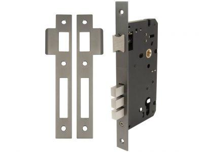 Windsor Brass 60mm Backset Short Throw Euro Mortice Lock
