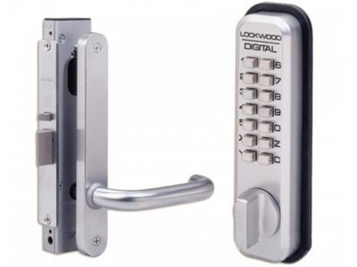 Lockwood 38mm Digital Lock for Narrow Door Stiles