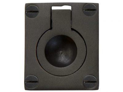 Windsor Brass 50 x 37mm Flush Ring