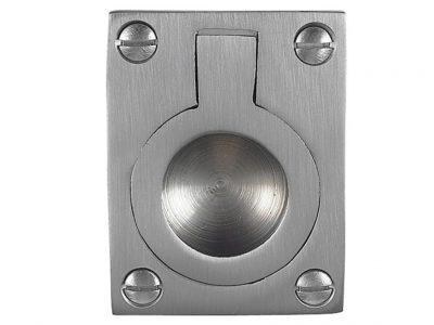 Windsor Brass 40 x 33mm Flush Ring