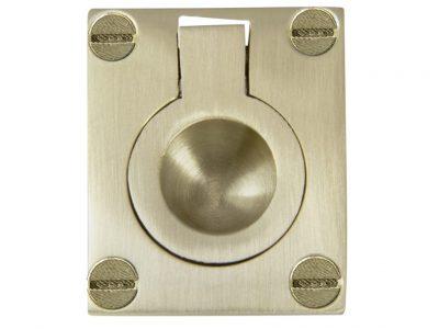Windsor Brass 63 x 50mm Flush Ring