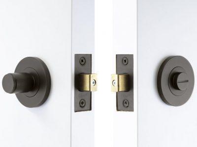 Windsor Brass Nido Non Knurled Privacy Set