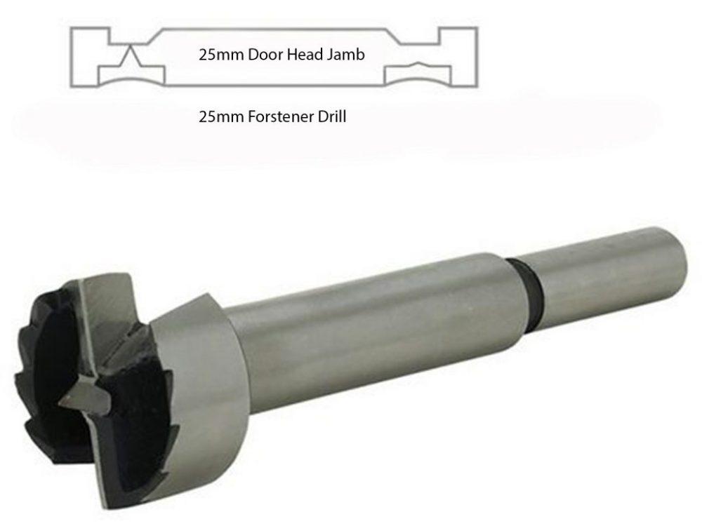 Windsor 25mm Forstener Drill Bit