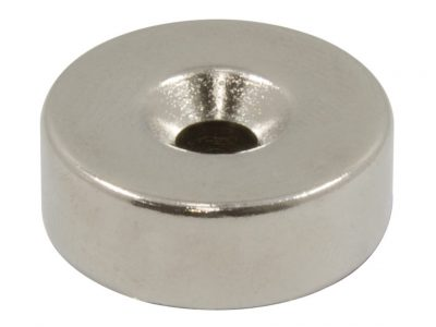 Windsor 22 x 8mm Countersunk Door Magnet Set