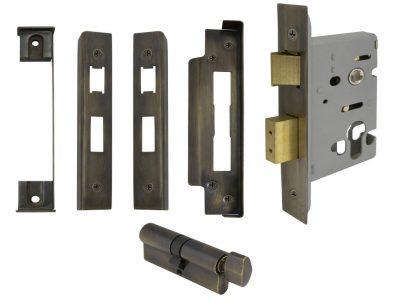 Windsor 57mm Backset Euro Mortice Lock Kits