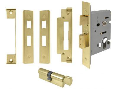 Windsor 45mm Backset Euro Mortice Lock Kits