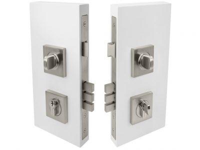 Windsor 60mm Backset Square Double Turn Locksets