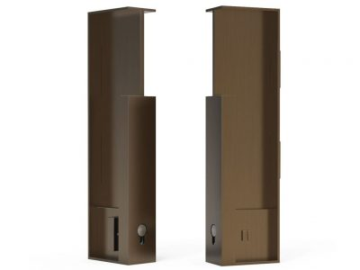 FP660 Bull Privacy Handles For 40mm Thick Doors With Lip