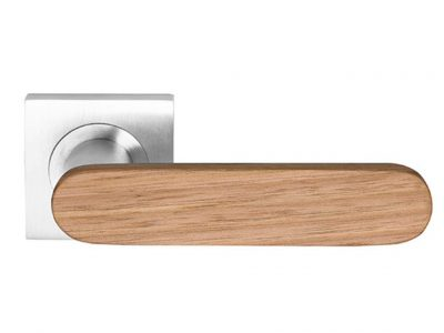 Monte Club American White Oak Oiled Timber Lever On 53mm Rose